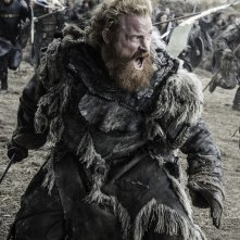 Il Trono di Spade: Kristofer Hivju combatte nell'episodio Battle of the Bastards