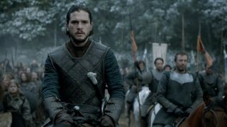 Il Trono di Spade: l'attore Kit Harington pronto per la battaglia in Battle of the Bastards