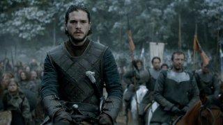 Il Trono di Spade: l'attore Kit Harington pronto per la battaglia in Battle of the Bastards