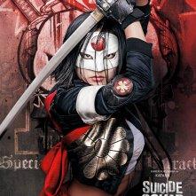 Suicide Squad: il character poster di Karen Fukuhara