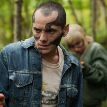Green Room: Anton Yelchin in un momento del film
