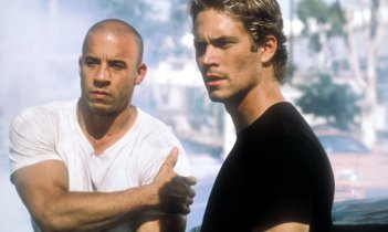 The Fast and the Furious: Paul Walker e Vin Diesel in scena