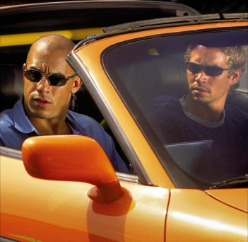 The Fast and the Furious: in scena Vin Diesle e Paul Walker