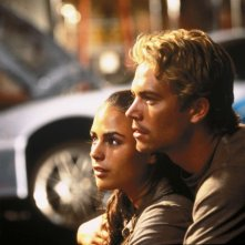 The Fast and the Furious: Paul Walker e Jordana Brewster in una scena