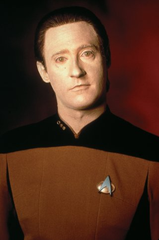 Star Trek: The Next Generation, Brent Spiner nel ruolo dell'androide Data