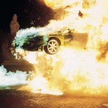 The Fast and the Furious: una spettacolare scena d'azione del film