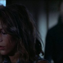 Jamie Lee Curtis in Halloween di John Carpenter 1978