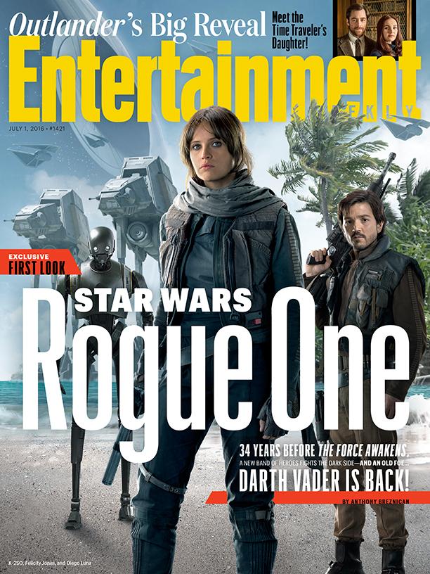 Rogue One: la copertina di Entertainment Weekly
