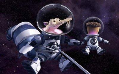 L'era glaciale 5 spedisce Scrat nello spazio