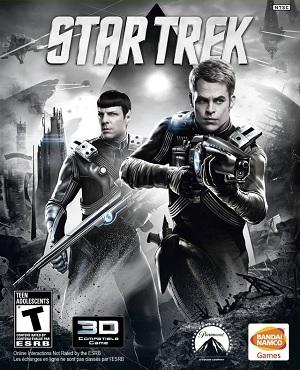 Chris Pine e Zachary Quinto sulla copertina del video game Star Trek