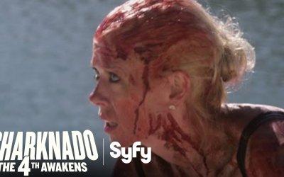 "Sharknado: The 4th Awakens - Teaser ""Is April Alive?"""
