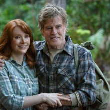Il drago invisibile: Robert Redford e Bryce Dallas Howard in una scena del film