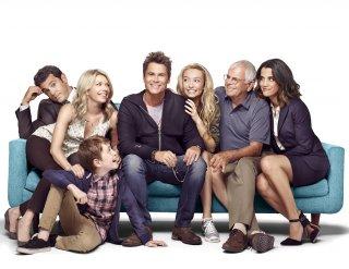 The Grinder, il cast in un'immagine promozionale