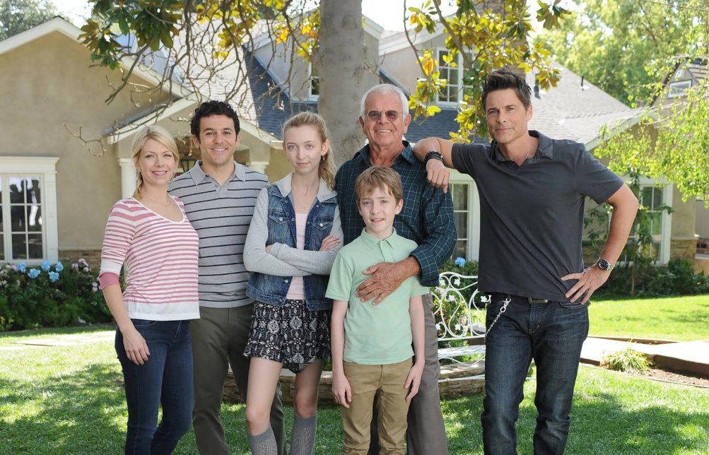 The Grinder: il cast un uno still promozionale