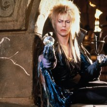 Labyrinth - Dove tutto è possibile: David Bowie in una scena del film