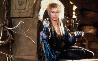 Labyrinth - Dove tutto è possibile: David Bowie in una scena del film