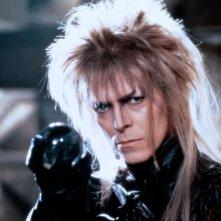 Labyrinth - Dove tutto è possibile: David Bowie in un momento del film