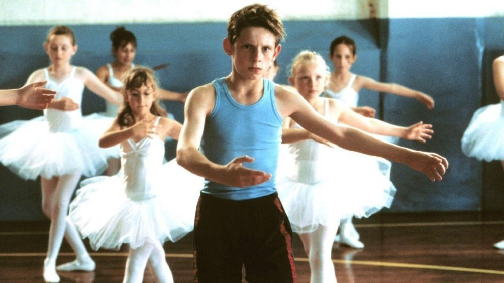 Jamie Bell nel film Billy Elliot