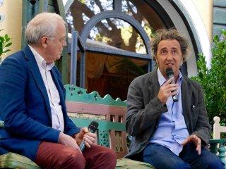 Paolo Sorrentino e Paolo Mereghetti a Parlare di cinema a Castiglioncello 2016