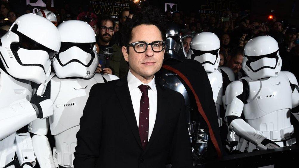J.J. Abrams con degli Stormtroopers