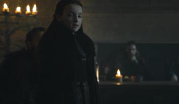 Il trono di spade 6: Lyanna Mormont in un istante di The Winds of Winter