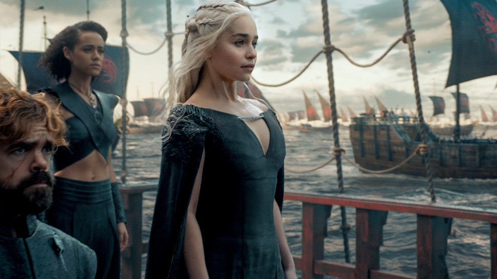 Il Trono di Spade: Tyrion e Daenerys guidano la flotta nell'ultima scena di The Winds of Winter