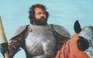Il soldato di ventura: un'immagine del film con Bud Spencer