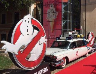 Ghostbusters: La Ecto-1 a Roma per la presentazione del film