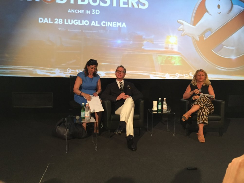 Ghostbusters: il regista Paul Feig a Roma