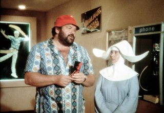 Pari e dispari: Bud Spencer in un'immagine del film