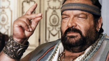 Superfantagenio: un primo piano di Bud Spencer