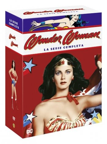 La cover DVD di Wonder Woman