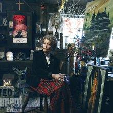 Lorraine Warren nel suo museo