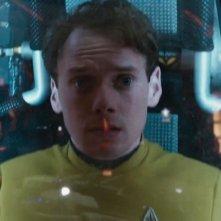 Star Trek Beyond: Anton Yelchin in un'immagine del film