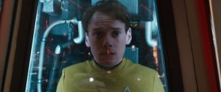Star Trek Beyond: Anton Yelchin in un'immagine del film