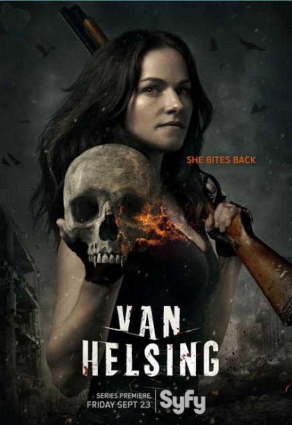 Van Helsing: il poster della serie tv
