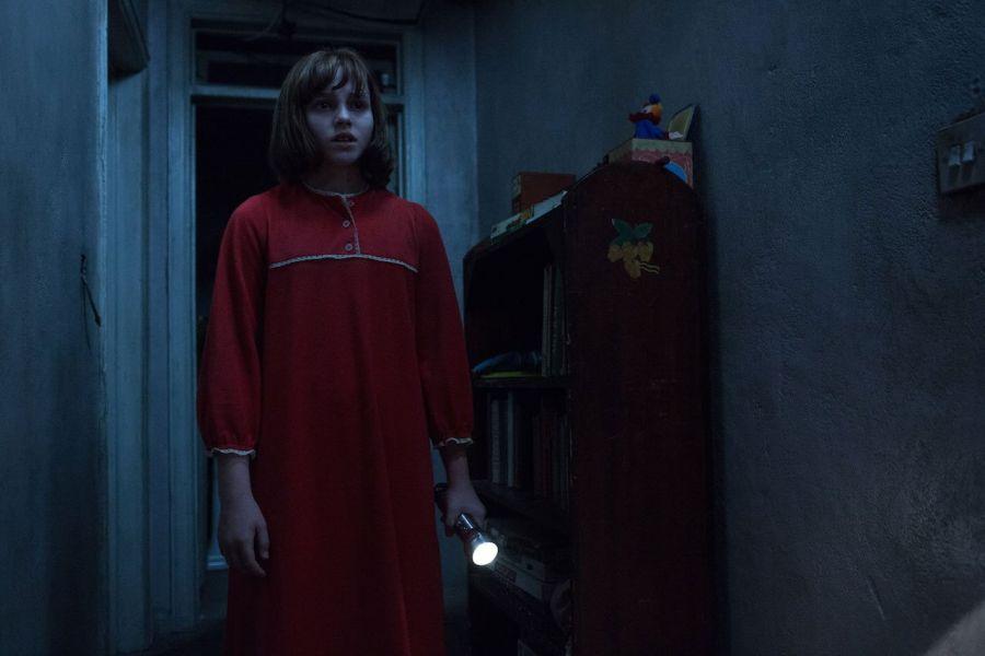 The Conjuring 2 - una scena del film
