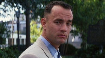 Forrest Gump: un primo piano di Tom Hanks