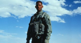 Independence Day: Will Smith in una scena del film