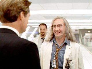 Independence Day: Brent Spiner e Bill Pullman in una scena del film