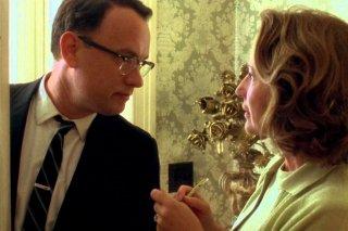 Prova a prendermi: Tom Hanks in una scena del film