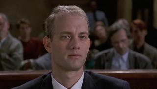 Philadelphia: un primo piano di Tom Hanks