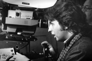Michael Cimino sul set