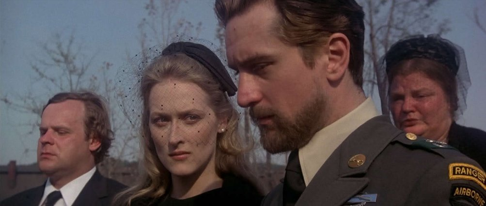 Meryl Streep e Robert De Niro ne Il cacciatore