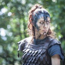 Barbarians: un'immagine dell'attrice Kirsty Mitchell