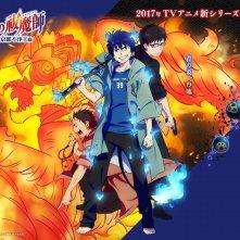 Blue Exorcist - L'arco del Re di Kyoto: un'immagine della serie anime