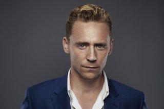 Uno scatto promozionale di Tom Hiddleston