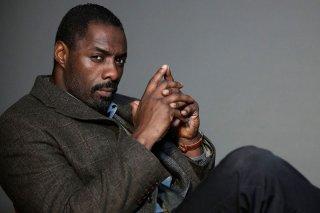 Uno scatto dell'attore Idris Elba