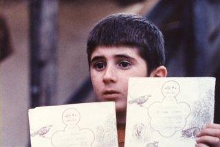 Dov'è la casa del mio amico? Una scena del film di Kiarostami