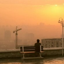 Una scena de Il sapore della ciliegia di Abbas Kiarostami